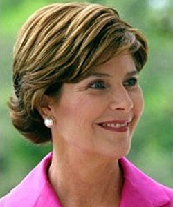 Ex-first lady Laura Bush is featured in the new adverts