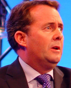 Liam Fox resigned from the Glasgow University Union over a gay society being formed