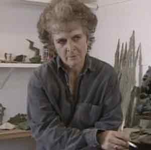 Maggi Hambling will receive a CBE