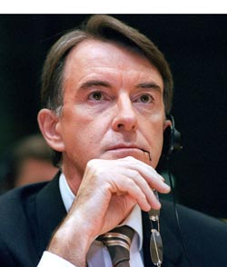 Mandelson was dubbed the