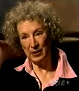 Margaret Atwood is an acclaimed novelist