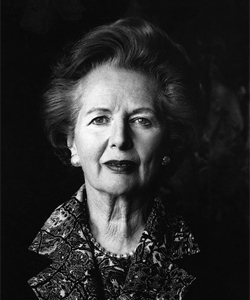 Margaret Thatcher died of a stroke, aged 87