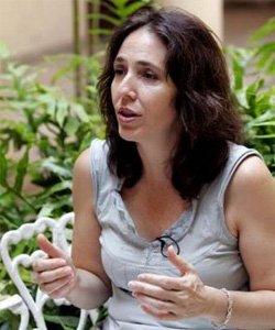 Mariela Castro led the parade through the central streets of Havana