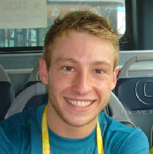 Australian diver Matthew Mitcham will compete in London