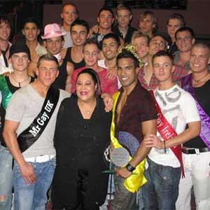 Mr Gay Europe is closely modelled on events such as Miss World