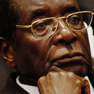 Robert Mugabe attacked Britain for accepting homosexuality