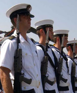 Mr Gay hopes to join the Royal Navy