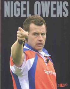 Nigel Owens is an openly gay rugby referee