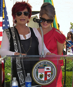 The pair at Los Angeles Pride (Photo: Calvin Fleming)