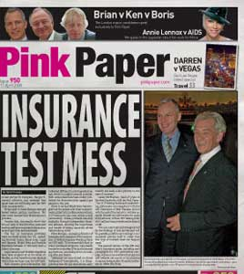 The Pink Paper is distributed to more than 500 venues