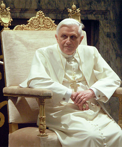 Pope Benedict XVI has been staunchly homophobic during his time in office