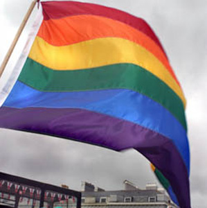 The FOI request asked whether the council and police had permission to fly the rainbow flag