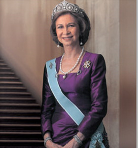 Queen Sofia of Spain has caused outrage among gay groups after extracts from ...