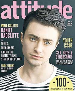 Daniel Radcliffe is in this month's Attitude magazine