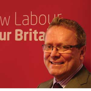 Ray Collins is the new Labour Party general secretary