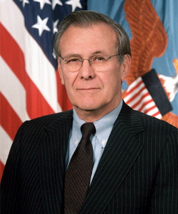 The SLDN may also be buoyed by the resignation of US Defence Secretary Donald Rumsfeld