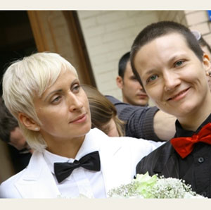 Russian Lesbians Attempt To Marry 111