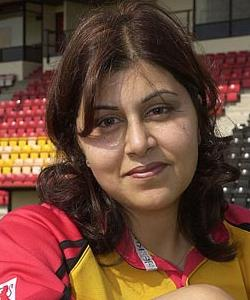 Sayeeda Warsi is the first female Muslim in the cabinet
