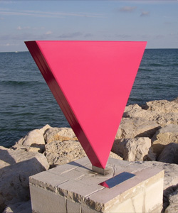 Monument against homophobia in Sitges