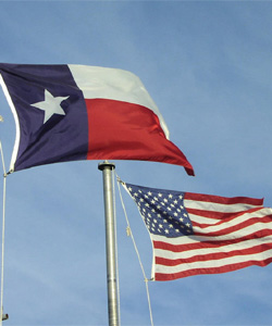 Gay marriage is banned in Texas