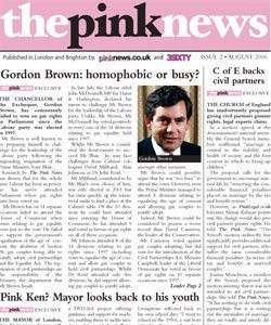 The PinkNews is an example of the latest delve into the gay market, ...