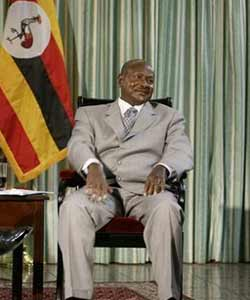 The President of Uganda has spoken out against gays