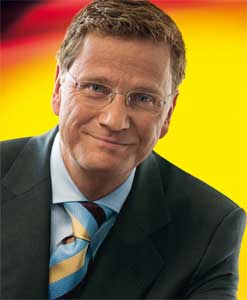 Guido Westerwelle is the leader of the Free Democrats
