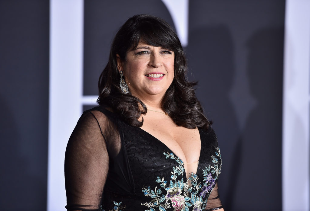 Author EL James attends the premiere of Fifty Shades Darker at The Theatre at Ace Hotel on February 2, 2017 in Los Angeles, California.