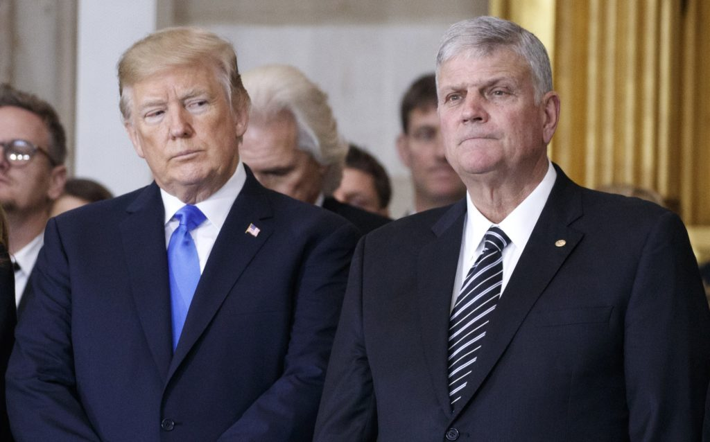 To the surprise of absolutely nobody, right-wing Trump-supporting pastor Franklin Graham slams schools teaching LGBT+ history
