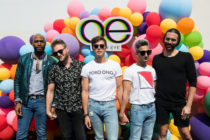 Karamo Brown, Bobby Berk, Antoni Porowski, Tan France and Jonathan Van Ness attend Netflix's Queer Eye Celebrates 4 Emmy Nominations with GLSEN at NeueHouse Hollywood on August 12, 2018
