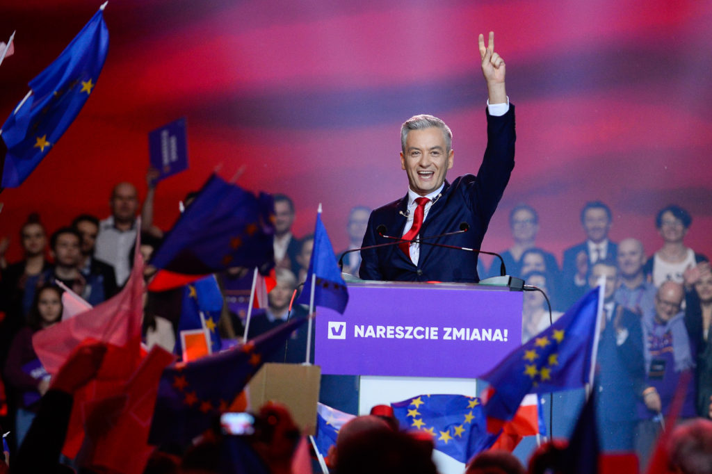 Former Polish mayor Robert Biedron recently launched a new liberal political party called Wiosna