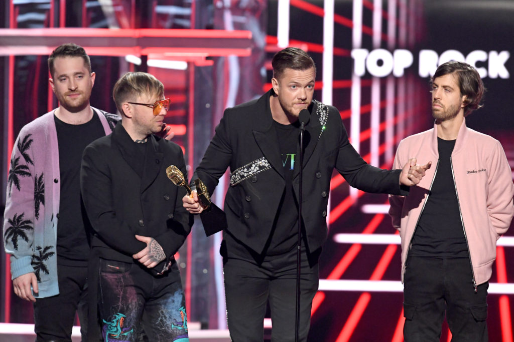 Imagine Dragons used their acceptance speech at the Billboards Music Awards to call for a ban on conversion therapy.