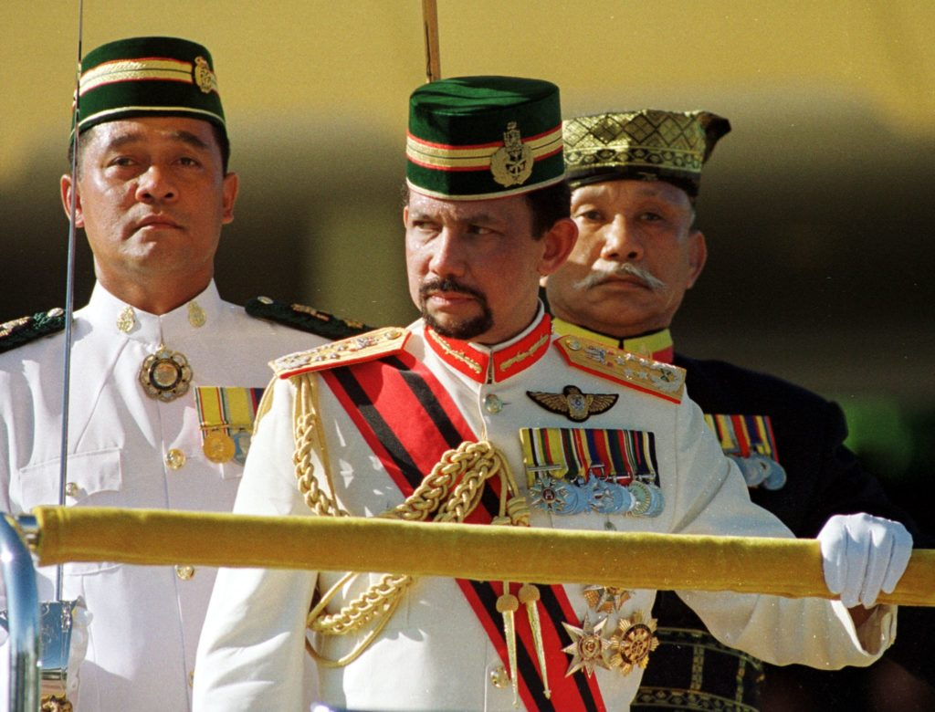 Commonwealth: Sultan of Brunei Hassanal Bolkiah