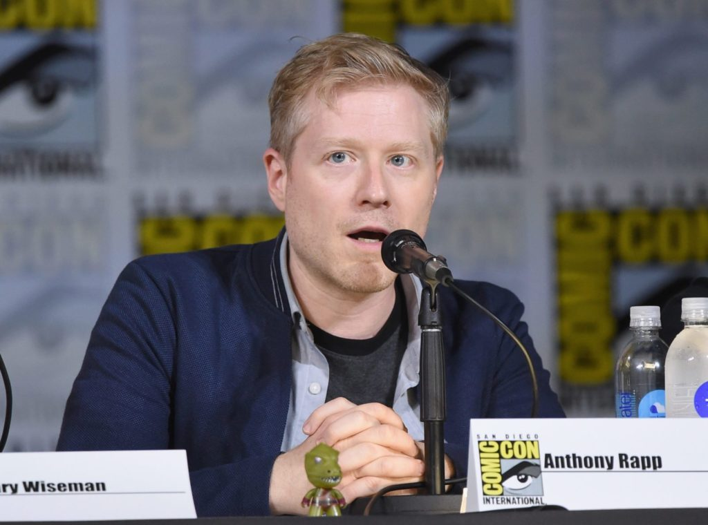 Actor Anthony Rapp, who has criticised a film producer for siding with Bryan Singer