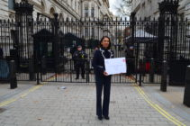 Photo of Gina Miller, Brexit campaigner.