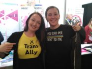 Mhairi Black, the SNP MP for Paisley & Renfrewshire South, has been praised for her trans-inclusive t-shirt. (Twitter/@ScottishTrans)