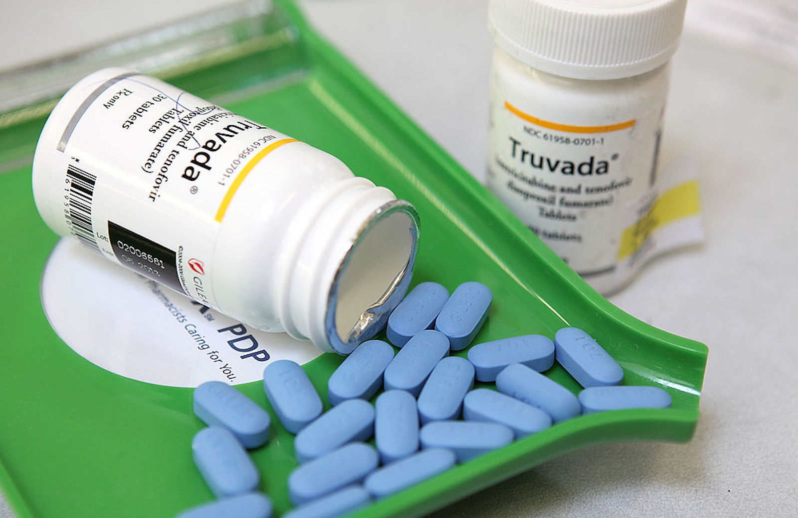 PrEP reduces the risk of contracting HIV in those that are at risk.