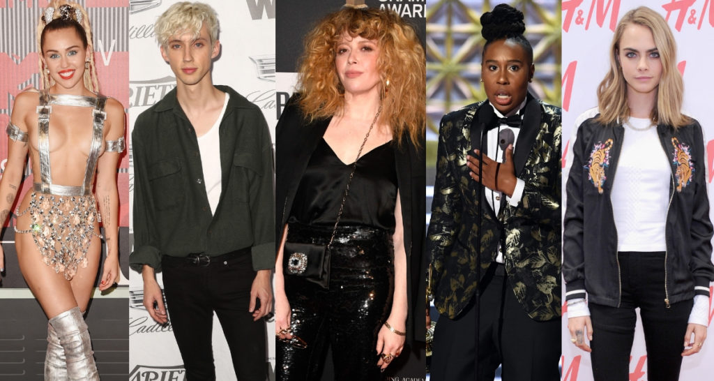 Rupaul's Drag Race guest judges include: Miley Cyrus, Troy Sivan, Natasha Lyonne,, Lena Waithe, Cara Delevingne, and many more