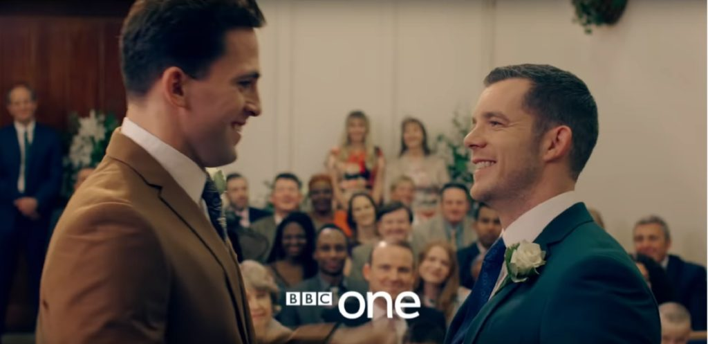 Years and Years: Russell Tovey's character Daniel Lyons ties the knot in BBC drama