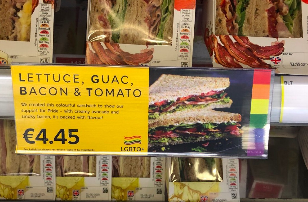 M&S launch LGBT sandwich and it's dividing opinion