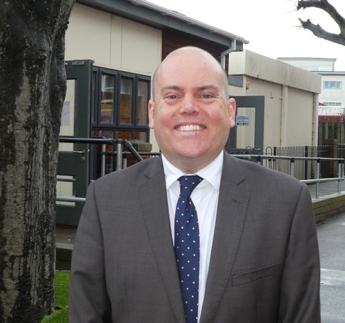 Andrew Moffat is the UK's only finalist for the Global Teacher Prize.