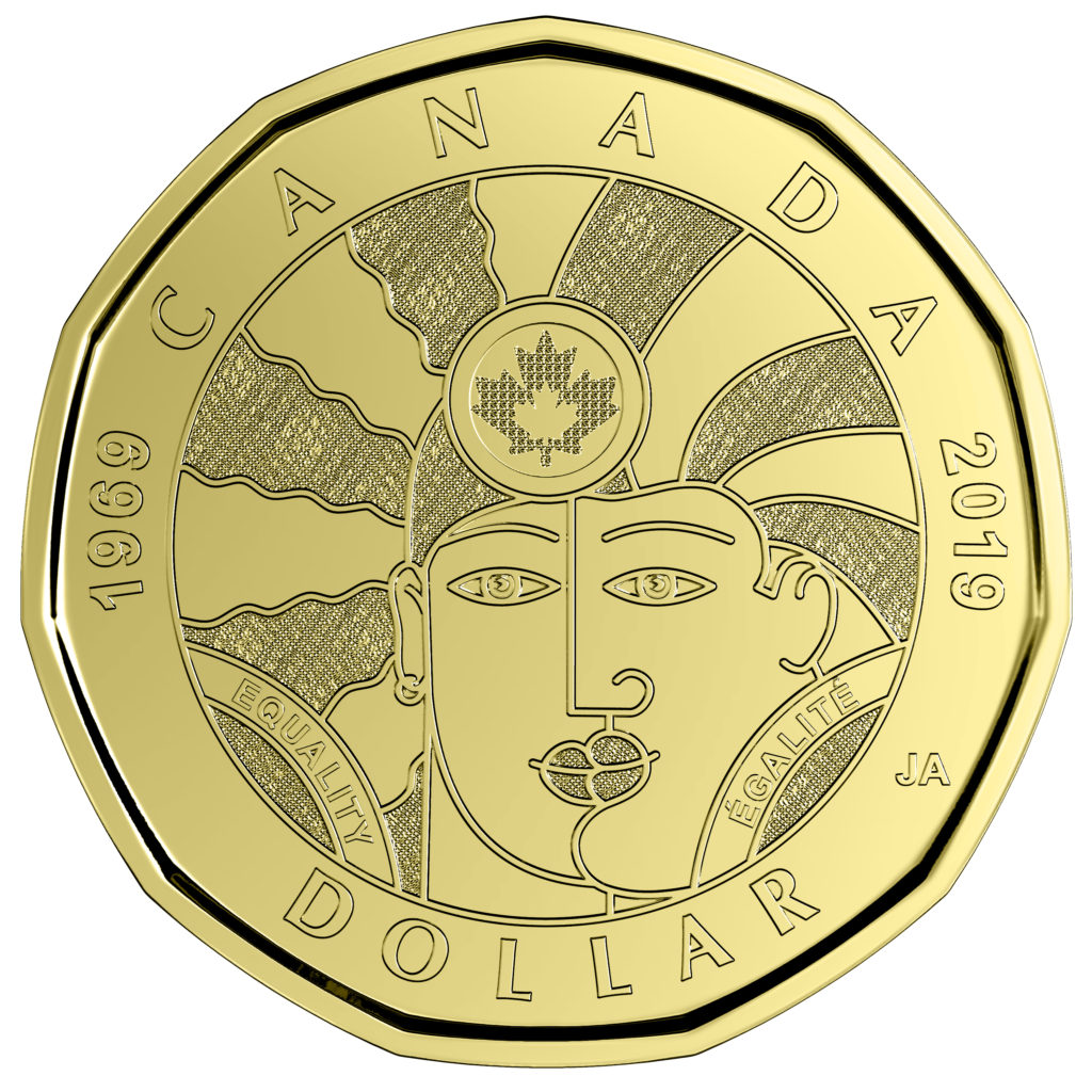 Canada unveils equality coin to mark decriminalisation of gay sex