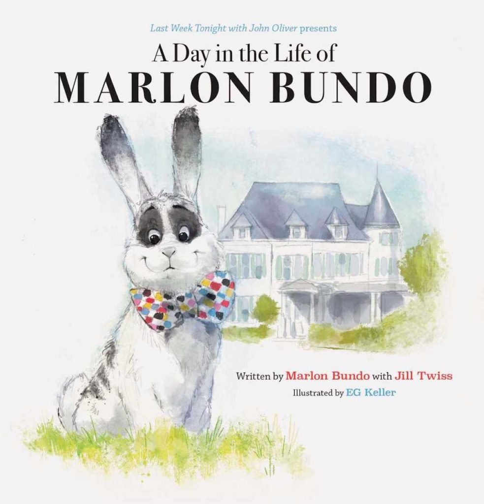 """John Oliver's book """"A Day in the Life of Marlon Bundo,"""" which has been sent to Karen Pence's school and also read at a Florida school"""