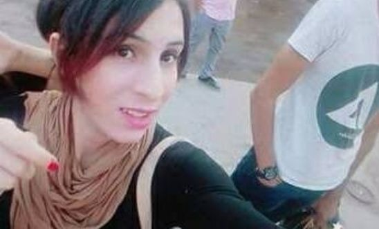 picture of trans woman and LGBT activist Malak al-Kashef, feared held in a men's prison in Egypt, facing torture risk.