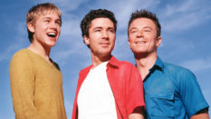 Charlie Hunman, Aidan Gillen and Craig Kelly in Queer as Folk.