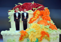 Same-sex marriage cake toppers