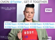 Sara Ramirez, who has spoken out for #20BiTeen, attends VH1 Trailblazer Honors 2018 at The Cathedral of St. John the Divine on June 21, 2018 in New York City