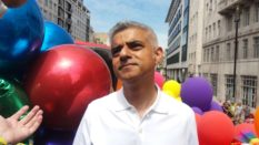 Mayor of London Sadiq Khan at Pride 2017