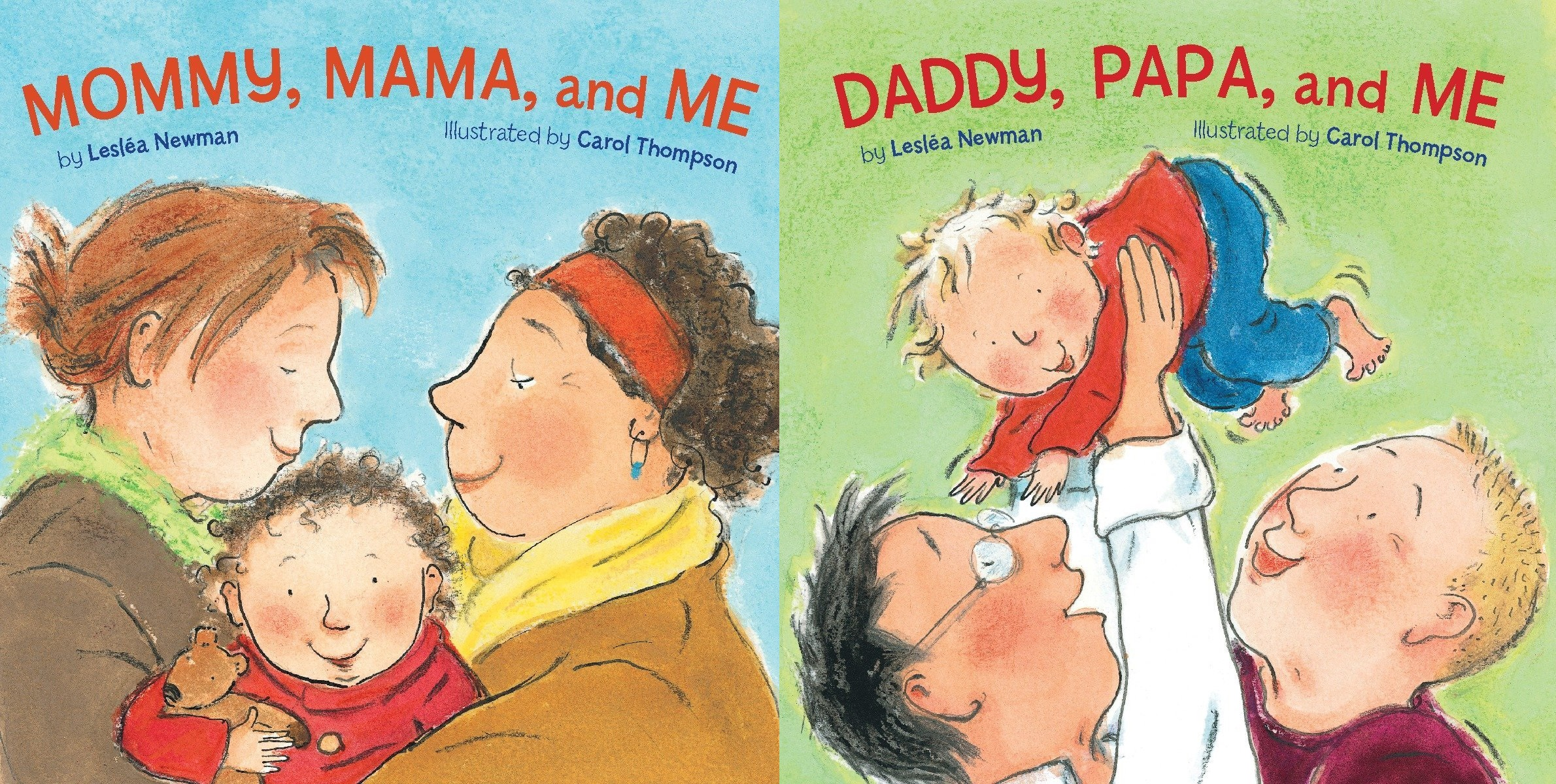 Books used as part of LGBT+ inclusive education lessons to teach about same-sex relationships