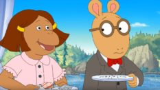 Image of a scene from PBS show Arthur and Friends